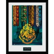 GBeye Collector Print - Harry Potter House Flags 30x40cm