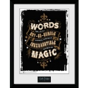 GBeye Collector Print - Harry Potter Words 30x40cm