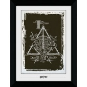 GBeye Collector Print - Harry Potter Deathly Hallows Graphic 50x70cm