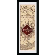 GBeye Collector Print - Harry Potter Marauders Map 76x30cm