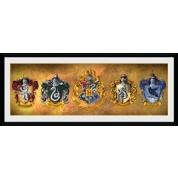 GBeye Collector Print - Harry Potter Houses 76x30cm