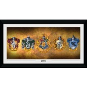 GBeye Collector Print - Harry Potter Houses 50x100cm