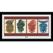 GBeye Collector Print - Harry Potter House Animals 50x100cm