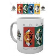 GBeye Mug - Harry Potter House Crests Simple