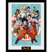GBeye Collector Print - Dragon Ball Super Universe Group 30x40cm