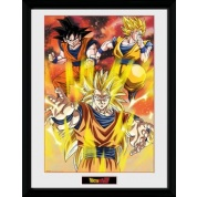 GBeye Collector Print - Dragon Ball Z 3 Gokus 30x40cm