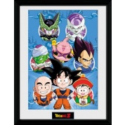GBeye Collector Print - Dragon Ball Z Chibi Characters 30x40cm