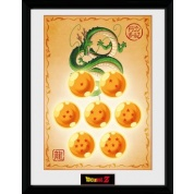 GBeye Collector Print - Dragon Ball Z Dragon Balls 30x40cm