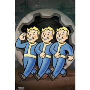 GBeye Maxi Poster - Fallout 76 Vault Boys