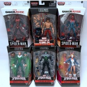 Marvel Legends Series Spider-Man Build a Figure Collection Demogoblin Series 6-inch Action Figures Assortment (8)