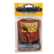 Dragon Shield Small Sleeves - Copper (50 Sleeves)