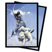 UP - Standard Sleeves - Frank Frazetta Art sleeves - Silver Warrior (100 Sleeves)