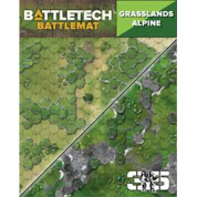 BattleTech Battle Mat Grasslands Alpine