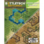 BattleTech Battle Mat Grasslands Savanna