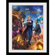 GBeye Collector Print - Doctor Who Group 30x40cm