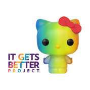 Funko POP! Pride 2020 - Sanrio Hello Kitty (RNBW) Vinyl Figure 10cm