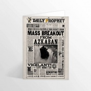 Harry Potter - Mass Breakout From Azkaban Lenticular Notecard
