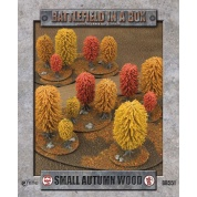 Battlefield In A Box - Small Autumn Wood (x1) - 15mm