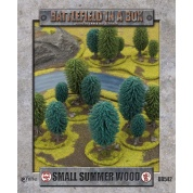Battlefield In A Box - Small Summer Wood (x1) - 15mm