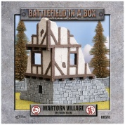 Battlefield In A Box - Wartorn Village - Medium Ruin