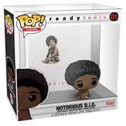 Funko POP! Albums Biggie Smalls w/ Acrylic Case Vinyl Figure
