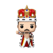 Funko POP! Queen - Freddie Mercury King Vinyl Figure 10cm