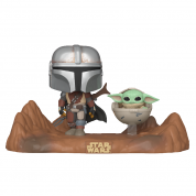 Funko POP! Moment: Mandalorian - Mandalorian & Child Vinyl Figures
