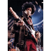"3D-Effect Poster - Jimi Hendrix ""Guitar"" 27x19-inch"