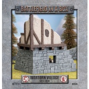Battlefield In A Box - Wartorn Village - Small Ruin
