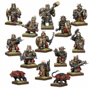 Kings of War Vanguard: Abyssal Dwarf Warband Set - EN