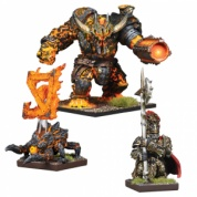 Kings of War Vanguard: Abyssal Dwarf Warband Booster - EN