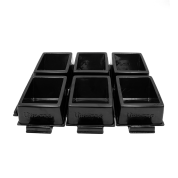 UP - Toploader & ONE-TOUCH Single Compartment Sorting Trays - 6ct
