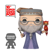 "Funko POP! Harry Potter - 10"" Dumbledore w/Fawkes Vinyl Figure 25cm"