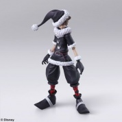 KINGDOM HEARTS II BRING ARTS - SORA CHRISTMAS TOWN Ver.