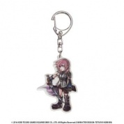 DISSIDIA FINAL FANTASY Acrylic Key Holder - Lightning