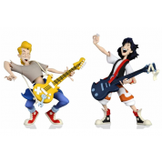 Bill and Ted's Excellent Adventure – Toony Classics Bill and Ted 2-Pack Action Figures 15cm