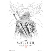 GBeye Maxi Poster - The Witcher Geralt Sketch