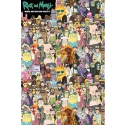 GBeye Maxi Poster - Rick & Morty Where's Rick