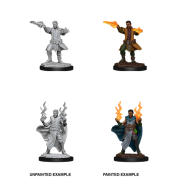 D&D Nolzur's Marvelous Miniatures - Male Human Sorcerer (6 Units)