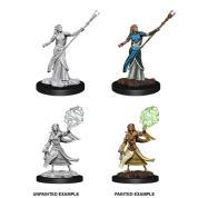 D&D Nolzur's Marvelous Miniatures - Female Elf Sorcerer (6 Units)