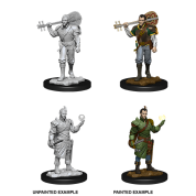 D&D Nolzur's Marvelous Miniatures - Male Half-Elf Bard (6 Units)
