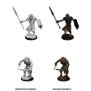 D&D Nolzur's Marvelous Miniatures - Gnoll & Gnoll Flesh Gnawer (6 Units)