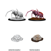 D&D Nolzur's Marvelous Miniatures - Giant Spider & Egg Clutch (6 Units)
