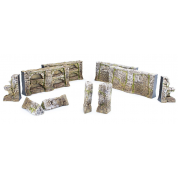 The Elder Scrolls Call to Arms - Nord Tomb Walls Terrain Set - EN