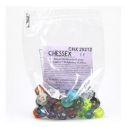 Chessex Signature Bags of 50 Asst. Dice - Poly. d12 Dice