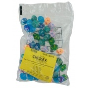 Chessex Bags of 50 DM #9 & 10 - Dice Menagerie #10 Bag of 50 d10s