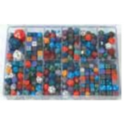 Chessex Loose Dice Samplers, Displays & 125 Polyhedral Dice Assortments - Large Sampler: Speckled Dice