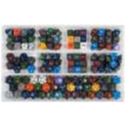 Chessex Loose Dice Samplers, Displays & 125 Polyhedral Dice Assortments - Assortment: Speckled Polyhedral Dice