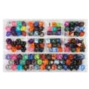Chessex Loose Dice Samplers, Displays & 125 Polyhedral Dice Assortments - Assortment: Signature Polyhedral Dice