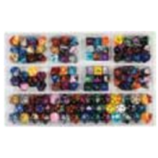Chessex Loose Dice Samplers, Displays & 125 Polyhedral Dice Assortments - Assortment: Gemini Polyhedral Dice